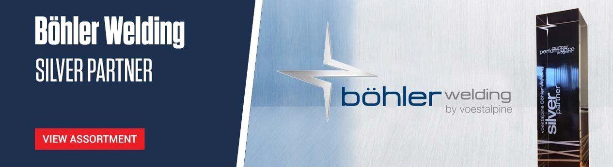 Böhler Welding Silver Partner - View range