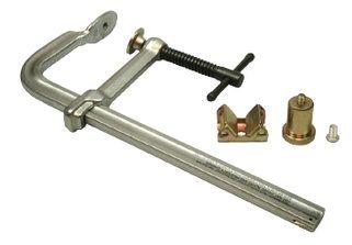 Klammer 18 mm Schiene, Backen 115 mm.