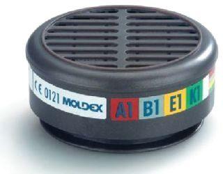 Moldex filter 8900 ABEK1, doos a 10 st