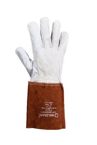 Weldsafe TIG handschoen 15cm kap, maat 10