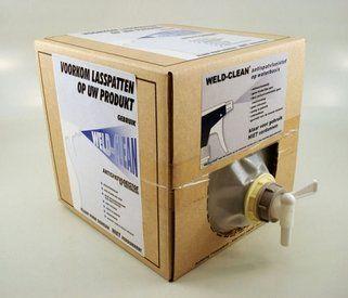 Weldclean tapkraan t.b.v. 5 liter jerrycan