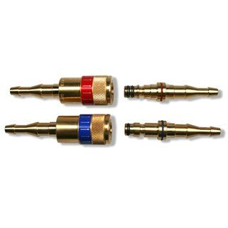 CAV snelkoppeling NKTT gas 6/8mm IB