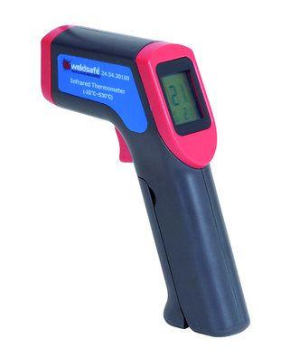 Weldsafe Infrarood thermometer + laser