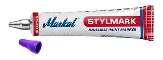 Markal Stylmark® paars, 3mm, ds a 10 st