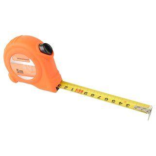Maßband Orange 5mx19mm mit Anschlag