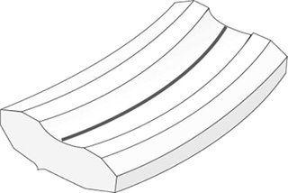 Weldsafe Keramische strip 8067-150 R