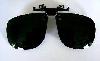 Voorhanger groen kleur 5 polycarbonaat anti-kras lens