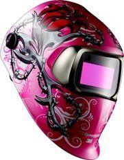 3M Speedglas 100 Wild 'n pink laskap + adf 3 8-12