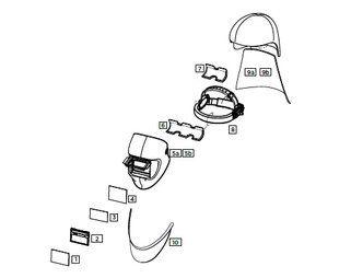 Optrel helmschaal PAPR liteflip autopilot