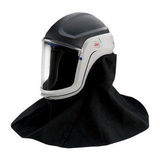 3M Versaflo M-407 Helm mit feuerfestem Schulterschutz