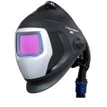 3M Speedglas 9100 Luftschweißschild + Schweißfilter X + Atemschlauch und Beutel