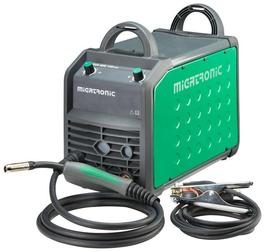 Migatronic Focus MIG 130 PFC Welding Machine - Welding technique ...