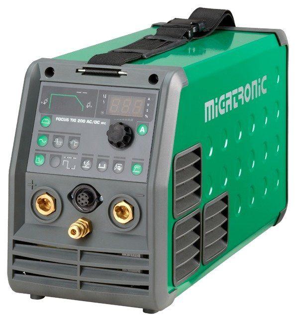 Migatronic Focus TIG 200 AC/DC PFC Lasapparaat - Lastechniek Rijnmond